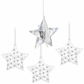 Swarovski Weihnachtsset Stern Crystal Moonlight