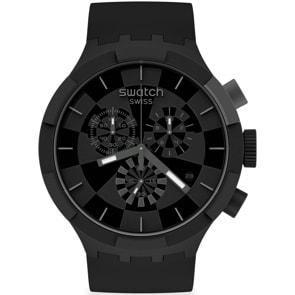 Swatch Big Bold Chrono Checkpoint Pirate Black