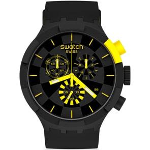 Swatch Big Bold Chrono Checkpoint Pleasure Yellow