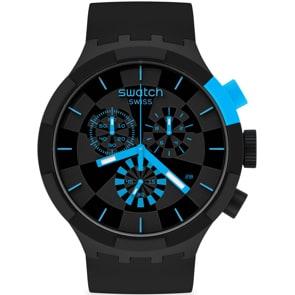 Swatch Big Bold Chrono Checkpoint Power Blue