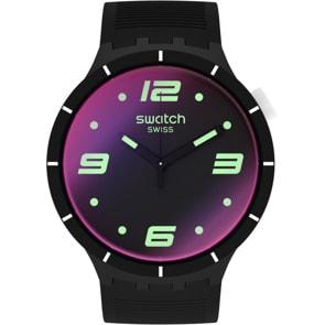Swatch Big Bold Futuristic Black