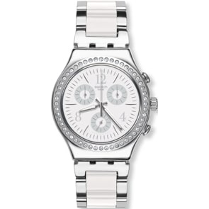 Swatch Irony Chrono Made in White