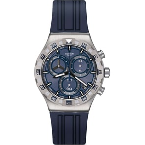 Swatch Irony Chrono Teckno Blue