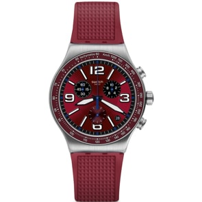 Swatch Irony Chrono Wine Grid