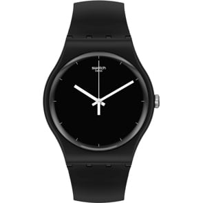 Swatch Original Biosourced Think Time Black