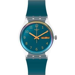 Swatch Original Blue Away Day Date