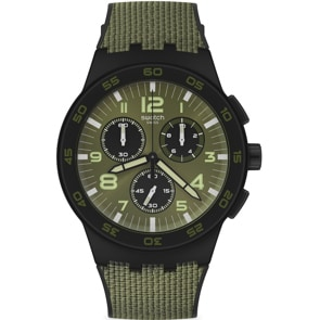 Swatch Original Chrono Dark Forest