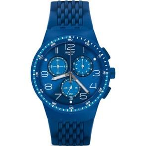 Swatch Original Chrono Triple Blue