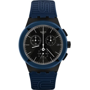 Swatch Original Chrono X-District Blue