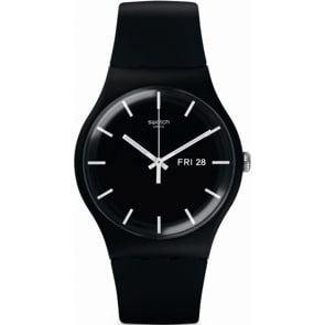 Swatch Original Gent Mono Black Day Date