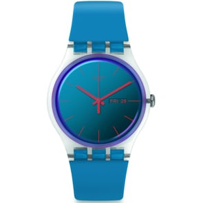 Swatch Original Gent Polablue Day Date