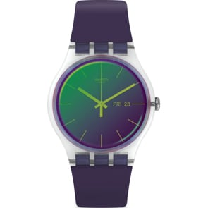Swatch Original Gent Polapurple Day Date