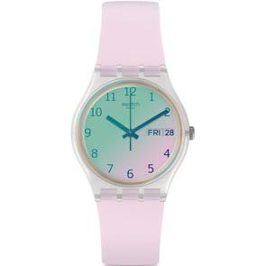 Swatch Original Ultrarose Day Date