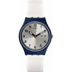 Swatch Original White Delight Day Date
