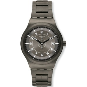 Swatch Sistem51 Irony Brushed Automatik
