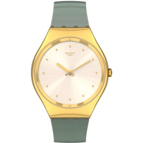 Swatch Skin Irony Green Moire