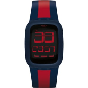 Swatch Touch Dark Blue & Red