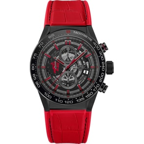 TAG Heuer Carrera Calibre Heuer 01 Manchester United Special Edition