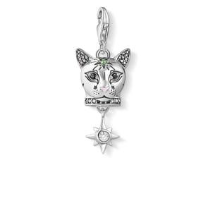 Thomas Sabo Charm-Anhänger Katze Silber
