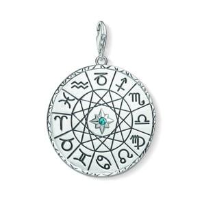 Thomas Sabo Charm-Anhänger Sternzeichen Coin Silber