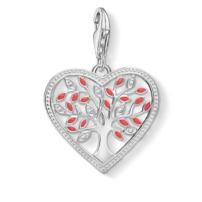 Thomas Sabo Charm-Anhänger Tree Of Love-Herz