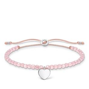 Thomas Sabo Charm Club Armband rosa Perlen mit Herz