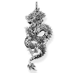 Thomas Sabo Sterling Silver Glam & Soul Anhänger Chinesischer Drache