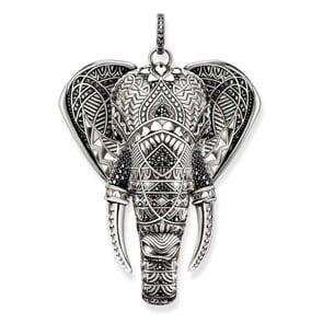 Thomas Sabo Sterling Silver Glam & Soul Anhänger Elefant