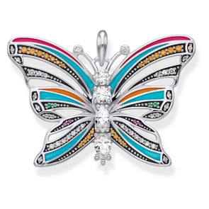 Thomas Sabo Sterling Silver Glam & Soul Anhänger Schmetterling