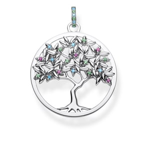Thomas Sabo Sterling Silver Glam & Soul Anhänger Tree of Love