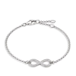 Thomas Sabo Sterling Silver Glam & Soul Armband Infinity
