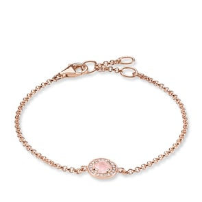 Thomas Sabo Sterling Silver Glam & Soul Armband Light of Luna Rosa