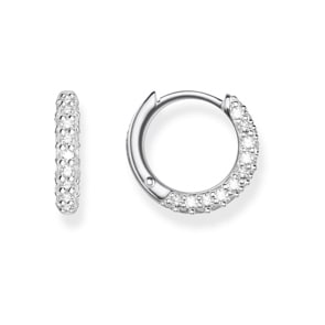 Thomas Sabo Sterling Silver Glam & Soul Creolen Pavé