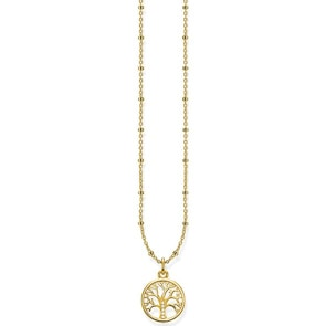 Thomas Sabo Sterling Silver Glam & Soul Kette Tree of Love Gold