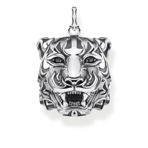 Thomas Sabo Sterling Silver Rebel at Heart Anhänger Tiger