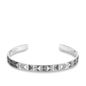 Thomas Sabo Sterling Silver Rebel at Heart Armreif Ethno