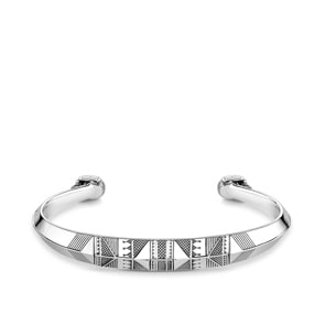 Thomas Sabo Sterling Silver Rebel at Heart Armreif Ethno Totenkopf