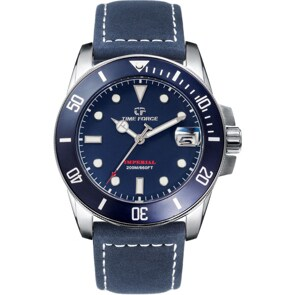 Time Force Imperial Diver Blau