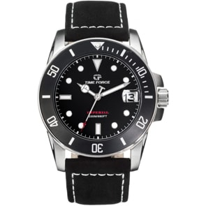 Time Force Imperial Diver Schwarz