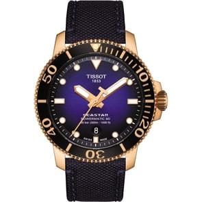 Tissot Seastar 1000 Powermatic 80 Rosé / Blau