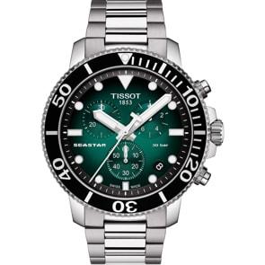 Tissot Seastar 1000 Quartz Chronograph Grün