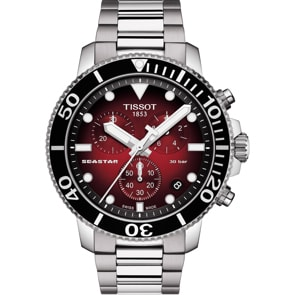 Tissot Seastar 1000 Quartz Chronograph Rot