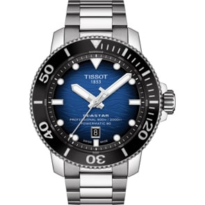 Tissot Seastar 2000 Professional Powermatic 80 Blau