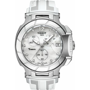 Tissot T-Race Quartz Chronograph Lady Diamonds