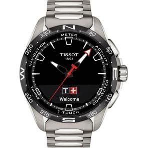 Tissot T-Touch Connect Solar Smartwatch mit Titanarmband