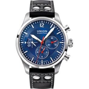 Union Glashütte Belisar Pilot Chronograph Automatik Blau