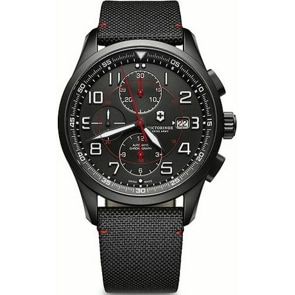 Victorinox Swiss Army Airboss Mechanical Chronograph Black Edition