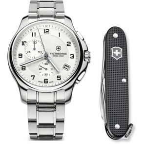 Victorinox Swiss Army Officer's Chronograph Set
