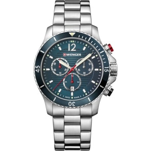 Wenger Seaforce Chrono Diver Blau Ø 43mm