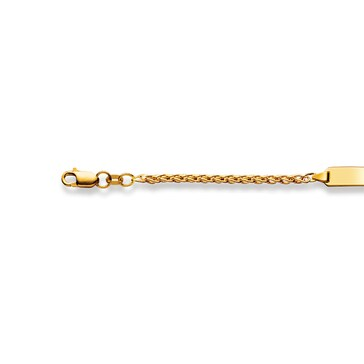 Bracelet pour enfants 750/18 K or jaune 2.5 mm